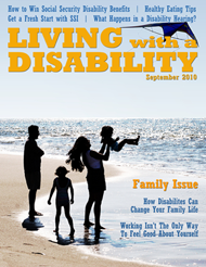 Current Issue of Living with a Disability